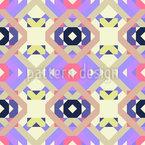 Geometric Webery Seamless Pattern