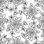 Zentangle Rosen Designmuster