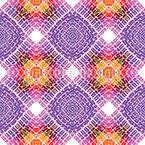 Kaleidoskopische Spiegelfliesen Muster Design
