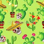 Cinco De Mayo Celebration Seamless Vector Pattern Design