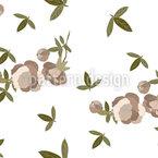 Frühlingsblumen-Zeit Nahtloses Vektormuster