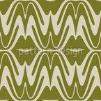 Wind-Schlag-Wellen Nahtloses Vektormuster