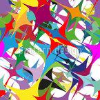 Farben Kämpfen Gegen Die Schwerkraft Vektor Muster