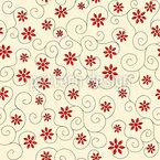 Blumen und Kringel Rapport