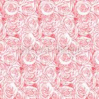 Blanket Of Roses Pattern Design