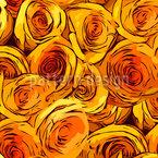 Rosen Überall Vektor Muster