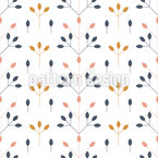 Rose Hip Berries Pattern Design