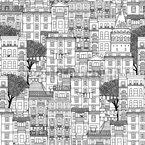 Häuser von Istanbul Musterdesign