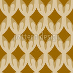 Stylized Net Seamless Vector Pattern Design