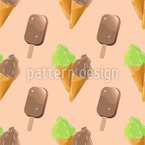 Soft Ice cream  Repeating Pattern