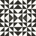 Quadrate und Rechtecke Nahtloses Vektormuster