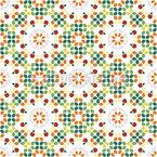 Vielfarbiger Mosaiktraum Nahtloses Muster