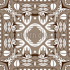 Mosaik im und um das Zentrum Vektor Muster