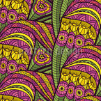 Jungle Flügel Muster Design