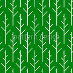 Skandinavische Bäume Nahtloses Vektormuster