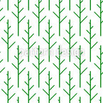 Scandinavian Woods Seamless Vector Pattern Design