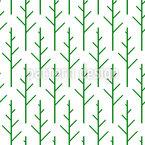 Skandinavische Wälder Nahtloses Vektormuster