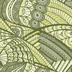 Bico Paradisiaco Design de padrão vetorial sem costura