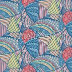 Tropisches Kaleidoskop Vektor Muster