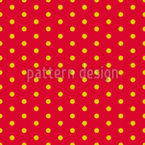 Polka Dot Suns Seamless Vector Pattern Design