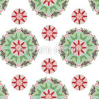 Floraison Motif Vectoriel Sans Couture