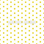 Sunny Polka Dot Seamless Vector Pattern Design