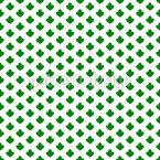 Dreipassblume Nahtloses Vektormuster