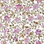 Blütenbombe Nahtloses Vektormuster