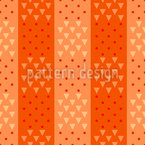 Squares of Triangles and Dots Seamless Vector Pattern Design