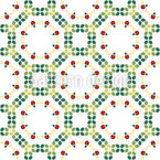 Tiled Mosaic Seamless Vector Pattern Design