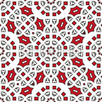 With Arabic Flair Pattern Design
