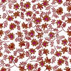 Florale Bombe Nahtloses Vektormuster