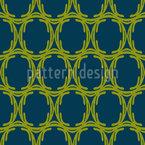 Ornamental Chain Seamless Vector Pattern Design