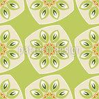 Abstract Kiwi Fruit Vector Design