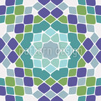 Tessellated Forms Seamless Vector Pattern Design
