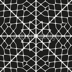 Spinnenhaus Nahtloses Vektormuster