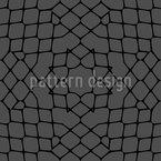 Teia de aranha escura Design de padrão vetorial sem costura