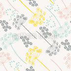 Flower Press Vector Pattern
