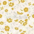 Anemone Flowers Seamless Pattern