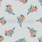 Spring Bouquets Seamless Vector Pattern