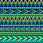 Traditional Pixel Pattern Design