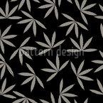 Happy Leaves Seamless Pattern