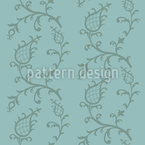 Cinderella Blau Muster Design