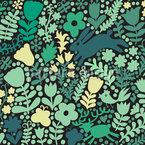 Waldboden Nahtloses Vektor Muster