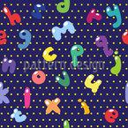 Doodle Style Alphabet Vector Ornament