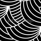 Graphic Waveland Seamless Vector Pattern Design