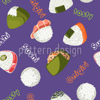 Japanese Goodies Seamless Pattern