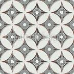交差する円形状 シームレスなベクトルパターン設計