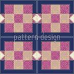 Patchwork Tiles Seamless Vector Pattern Design