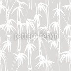 Ink Bamboo Seamless Vector Pattern Design